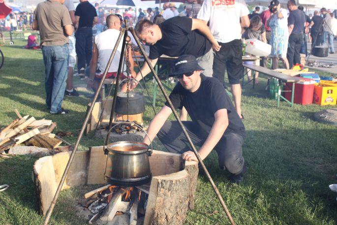 Otvoreno prvenstvo grada u kuhanju fiša i Savski sajam